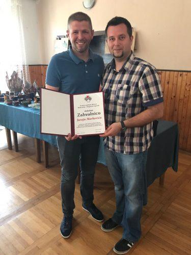 Bojan Blažević i Juraj Marković prof.