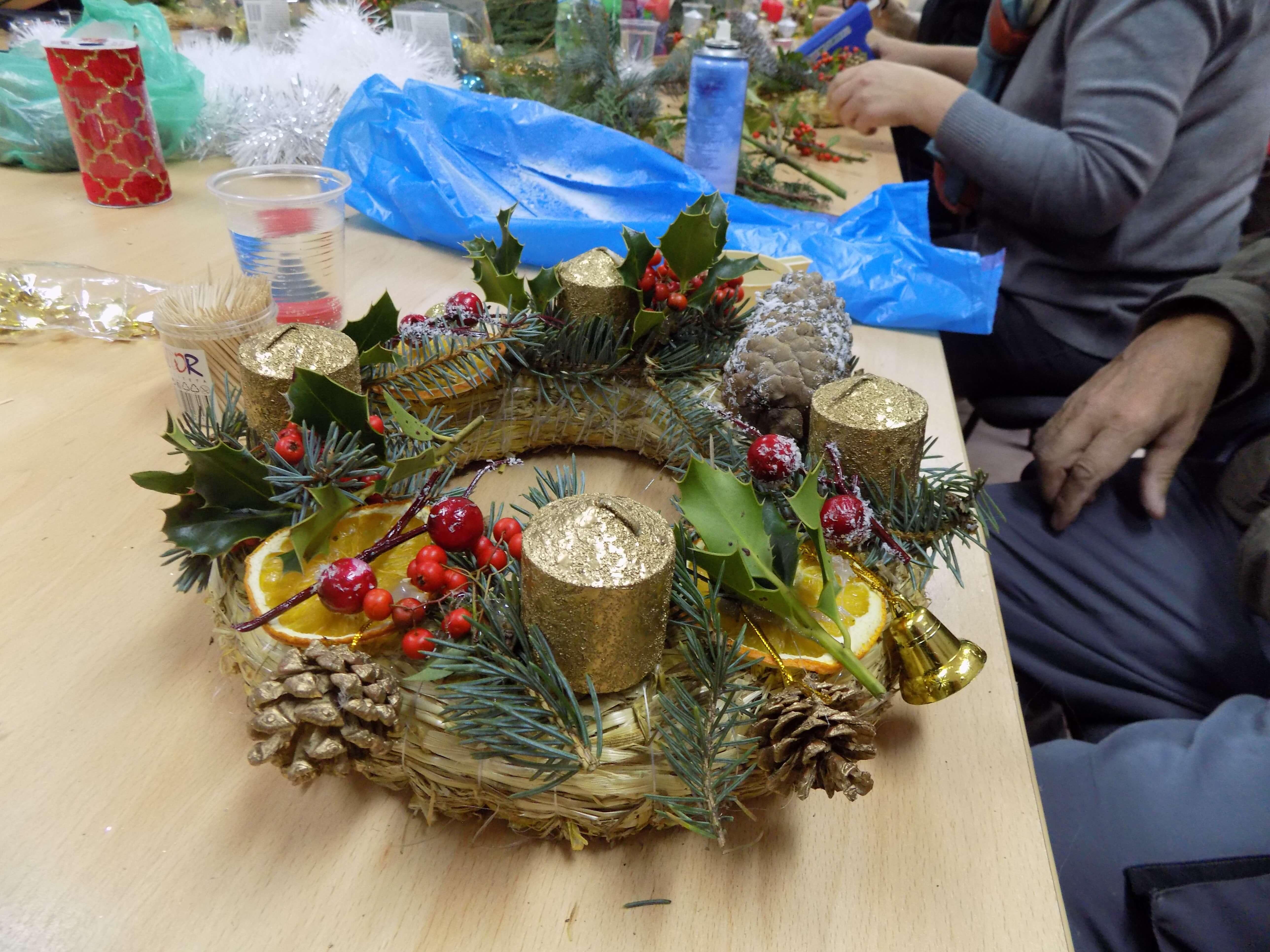 Kreativna radionica povodom nadolazećih Božićnih i Novogodišnjih blagdana