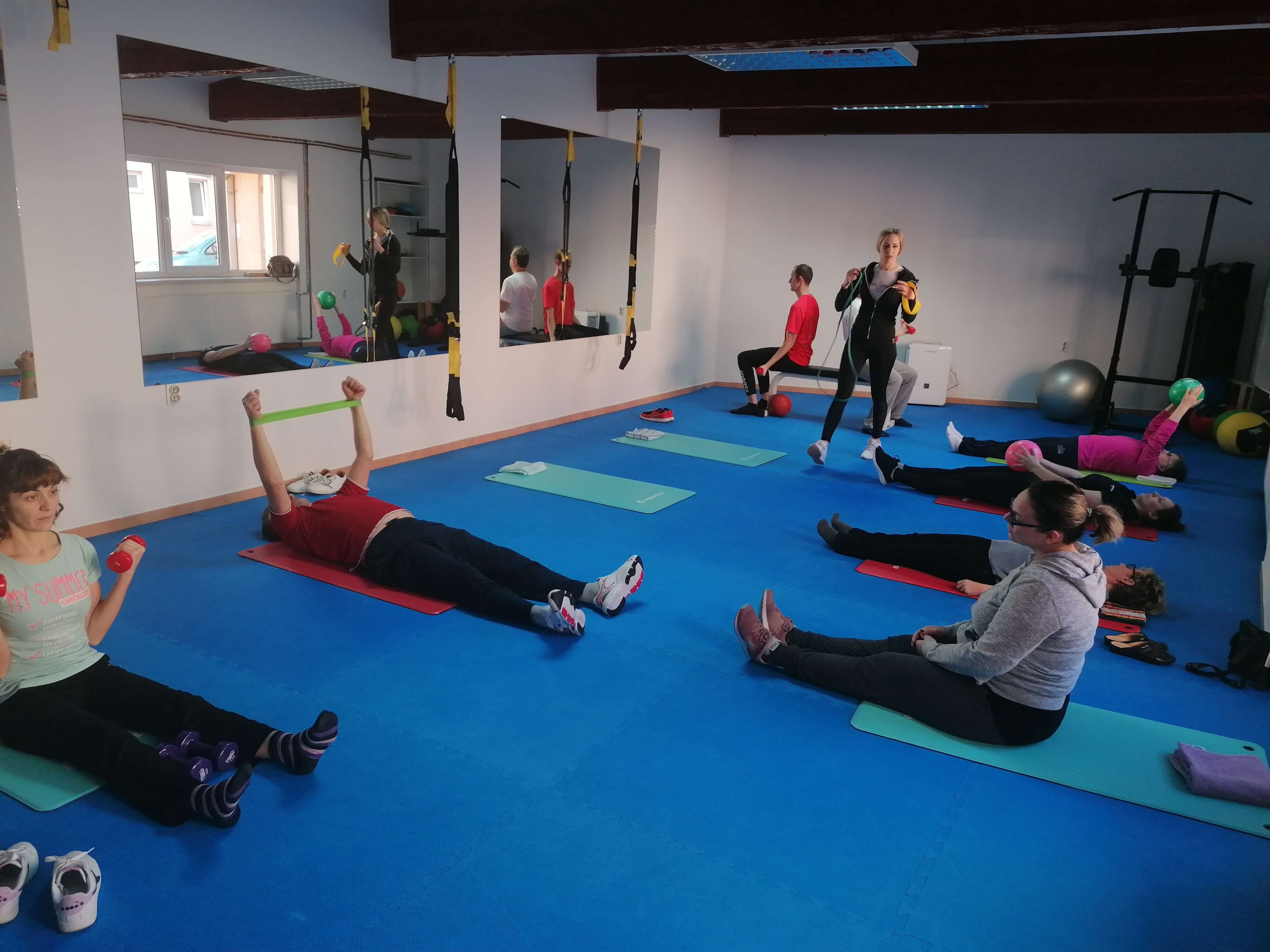 Rehabilitacijski trening oboljelih od MS-a